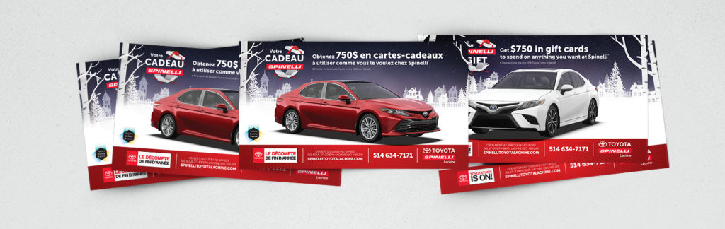 Direct mailing Spinelli Toyota
